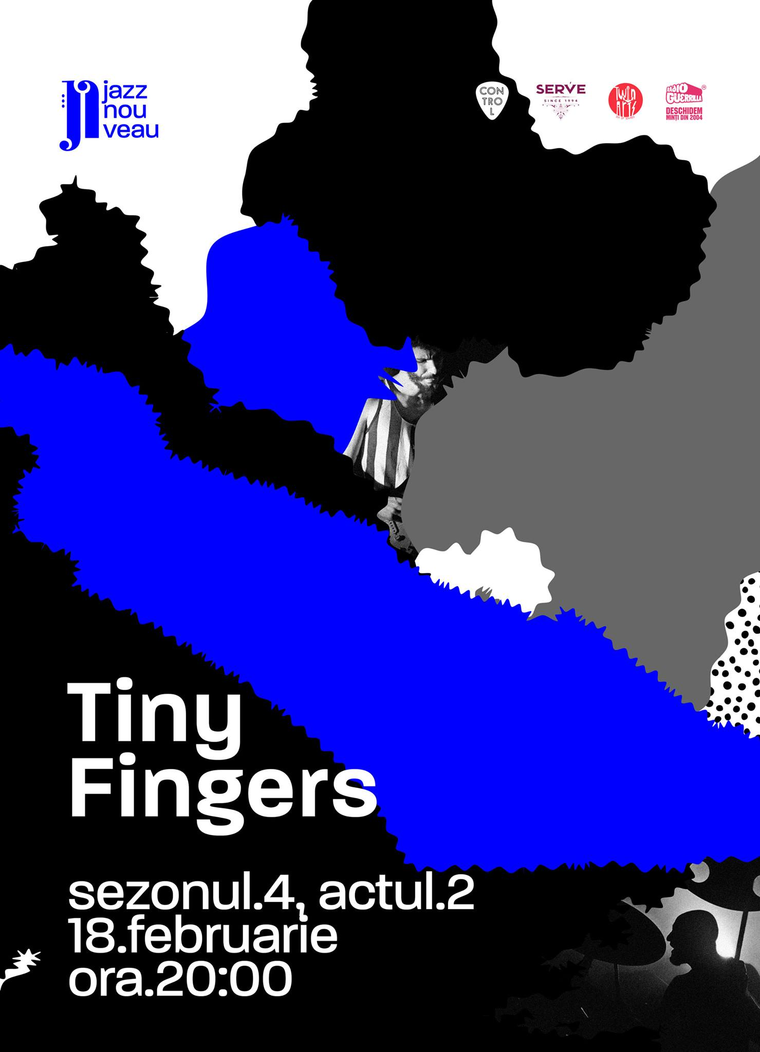 Tiny Fingers Live la Jazz Nouveau – 18.02
