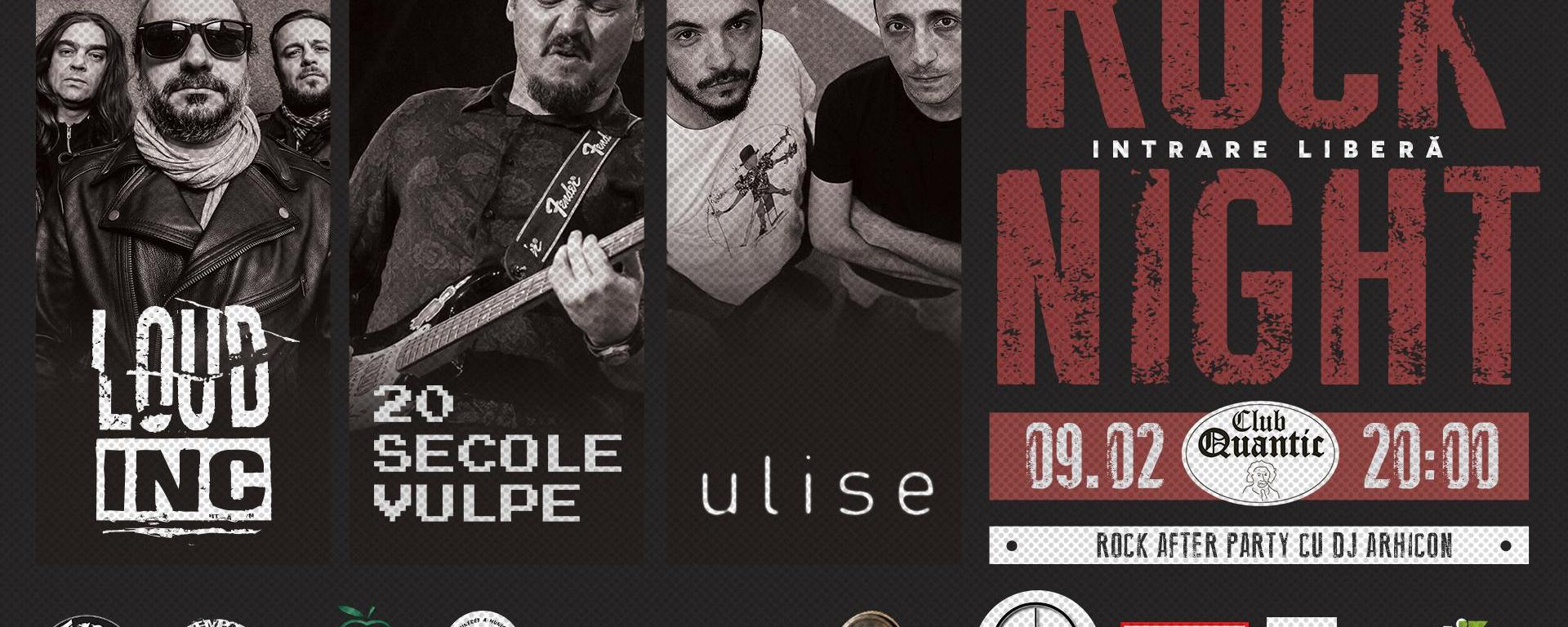 Ulise || Loud Inc. || 20 secole vulpe Live in Quantic – 9.02