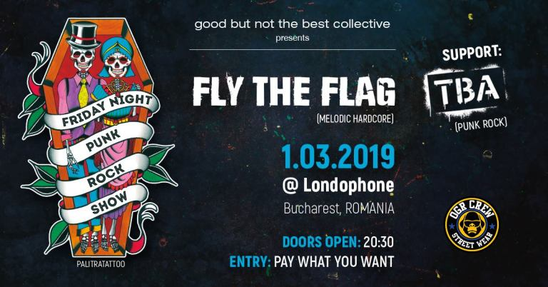Fly The Flag + TBA Live in Londonphone – 1.03