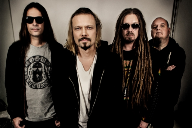 FLAT EARTH Feat. fosti membri HIM si AMORPHIS: 'Subhuman' Lyric Video