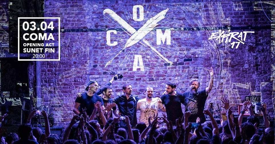 Concert Coma si Sunet Fin Live in Expirat – 03.04
