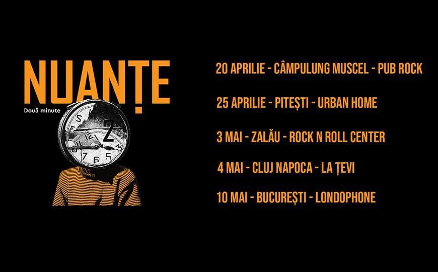 """Trupa Nuanțe lansează albumul de debut """"Două Minute"""""""