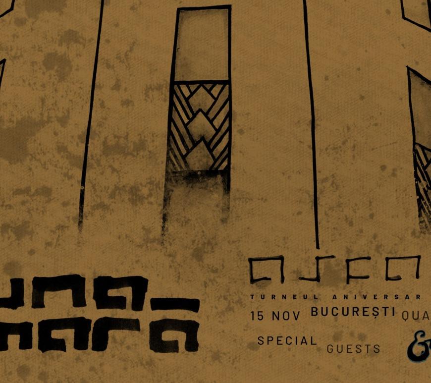 Luna Amară - Turneu aniversar Asfalt 15 ani - București in Quantic - Contemporary-Establishment