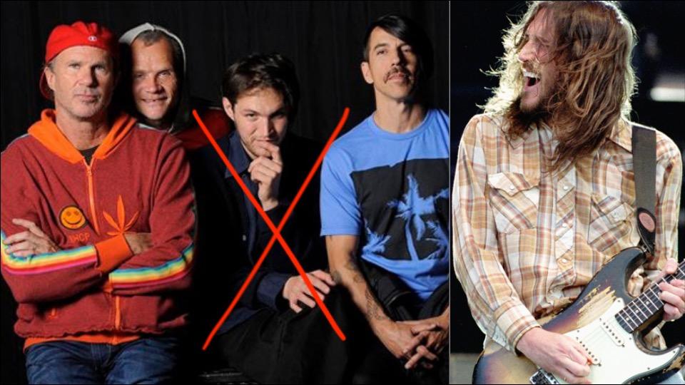 Red Hor Chili Peppers anunta intoarcerea lui John Frusciante si plecarea lui Josh Klinghoffer - Contemporary-Establishment