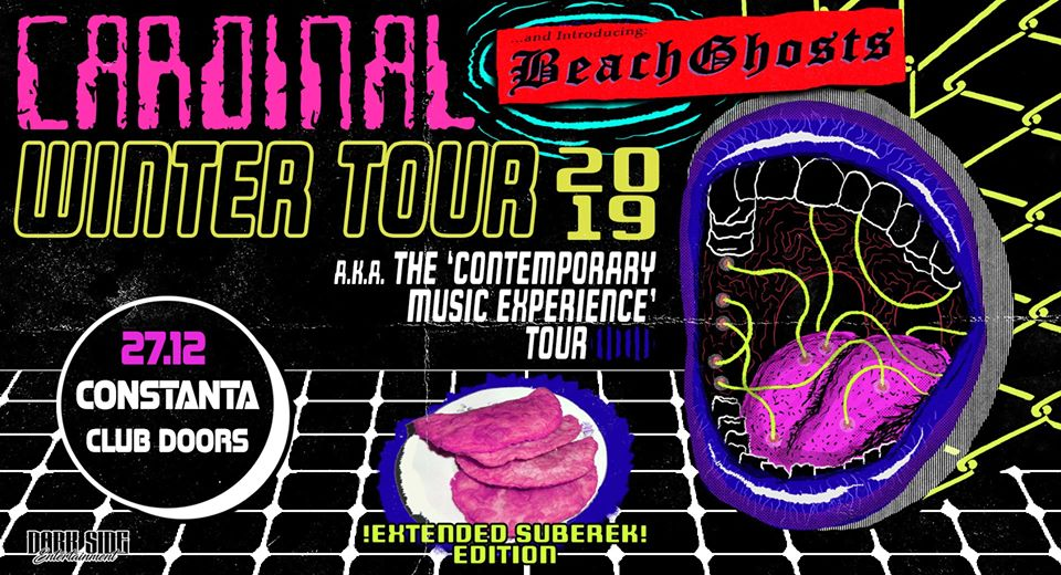 Cardinal – Winter Tour / Doors Club / 27.12 w/ Beach Ghosts - Contemporary-Establishment