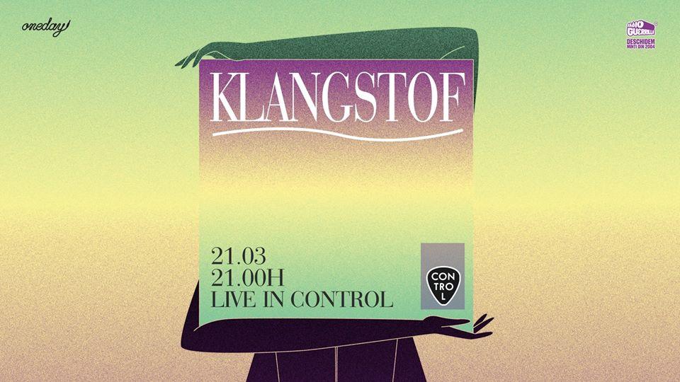 Klangstof (NL) Live in Control - Contemporary-Establishment