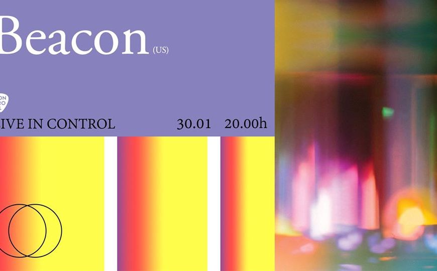 Concert Beacon (US) live in Club Control - Contemporary-Establishment