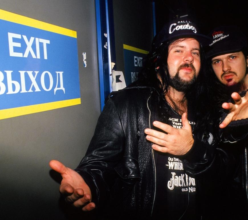 Vinnie Paul si Dimebag Darell de-a lungul timpului: Fotografii rare cu Pantera - Contemporary-Establishment