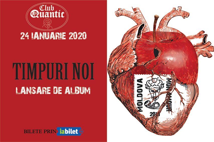 Concert Lansare de album // Timpuri Noi // Moldova mon amour in Quantic Bucuresti