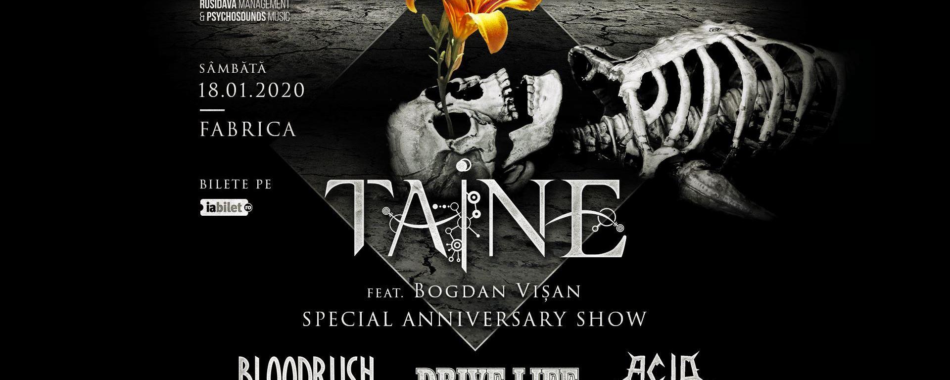 Concert Taine (anniversary show), Bloodrush, Drive Your Life, Acid Scorn in Fabrica Bucuresti