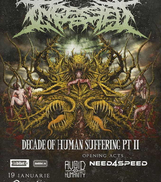 Concert Ingested [UK] / Need4Speed [RM] / Avoid Humanity [RO] in Quantic - Contemporarz+Establishment