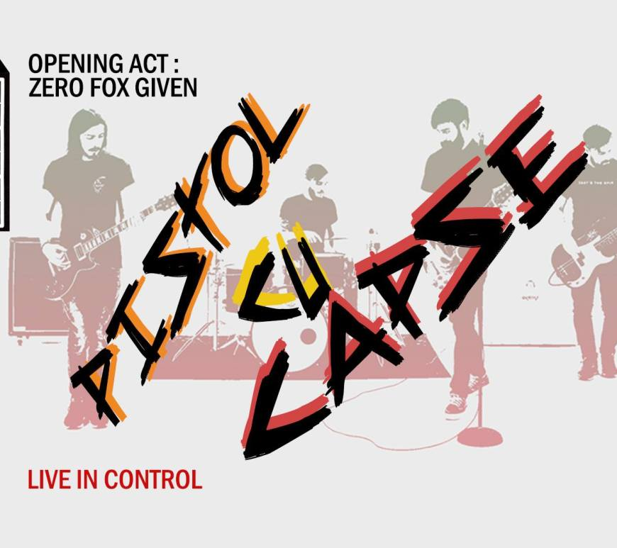 Concert Pistol cu Capse in club Control pe 29.01