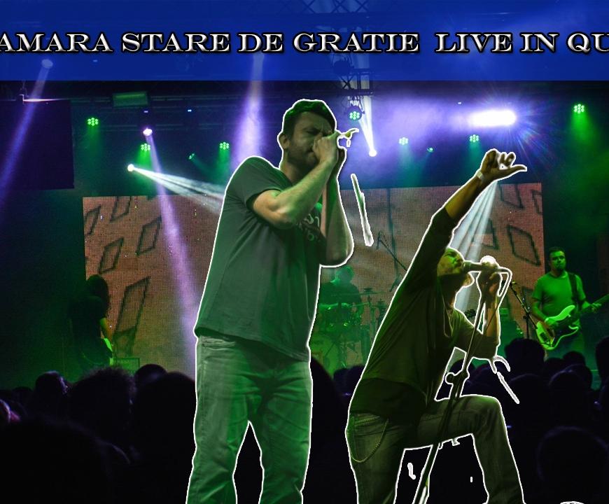 Luna Amara - Varianta Live a piesei Stare de Gratie in Club Quantic Bucuresti - Contemporary-Establishment