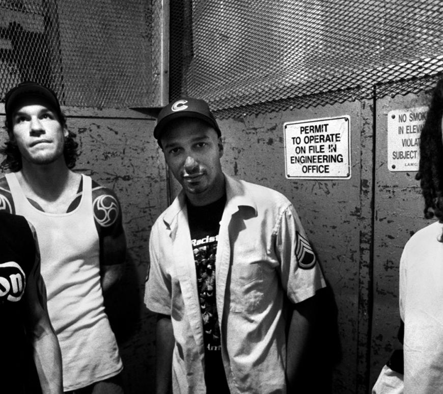 Rage Against the Machine - Fotografii uluitore de la inceputurile trupei