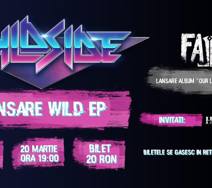 Concert Lansare EP WildSide@Bucuresti, 20 Martie 2020 || Invitati Fallen si Heavy String