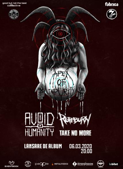 Avoid Humanity lanseaza primul album in club Fabrica pe 6 martie