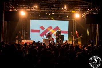 Anti-Flag si E.M.I.L. au concertat in Quantic si a fost super tare