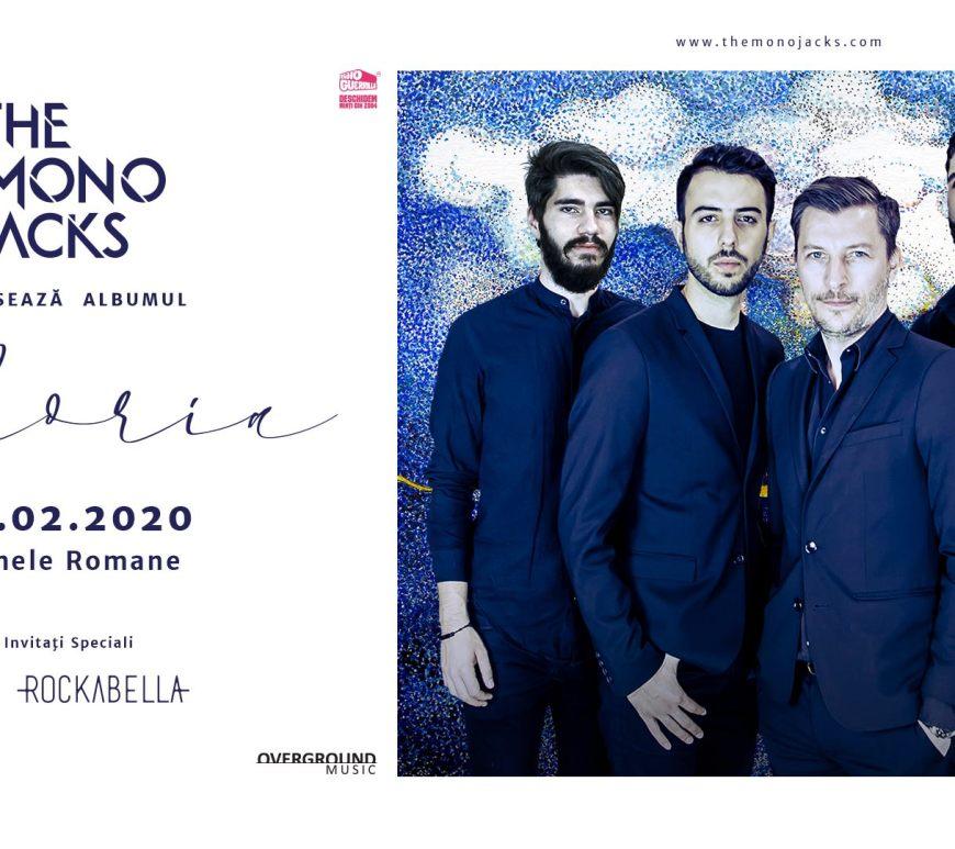 """Concert The Mono Jacks lansare """"Gloria""""; invitați byron și Rockabella"""