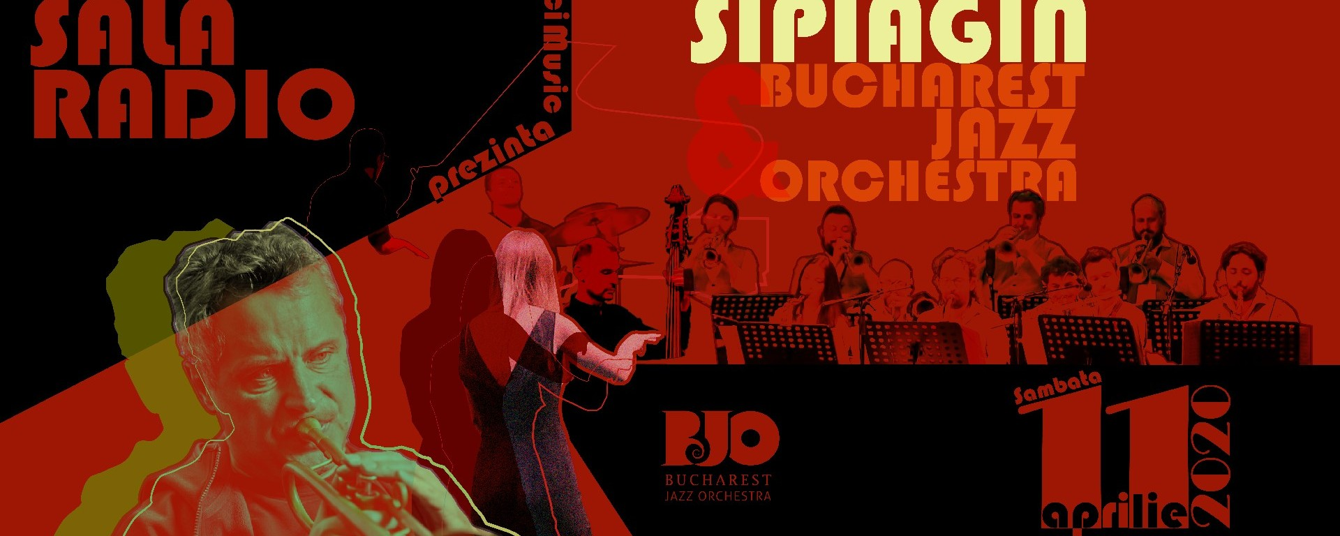 Alex Sipiagin & Bucharest Jazz Orchestra - Live la Sala Radio