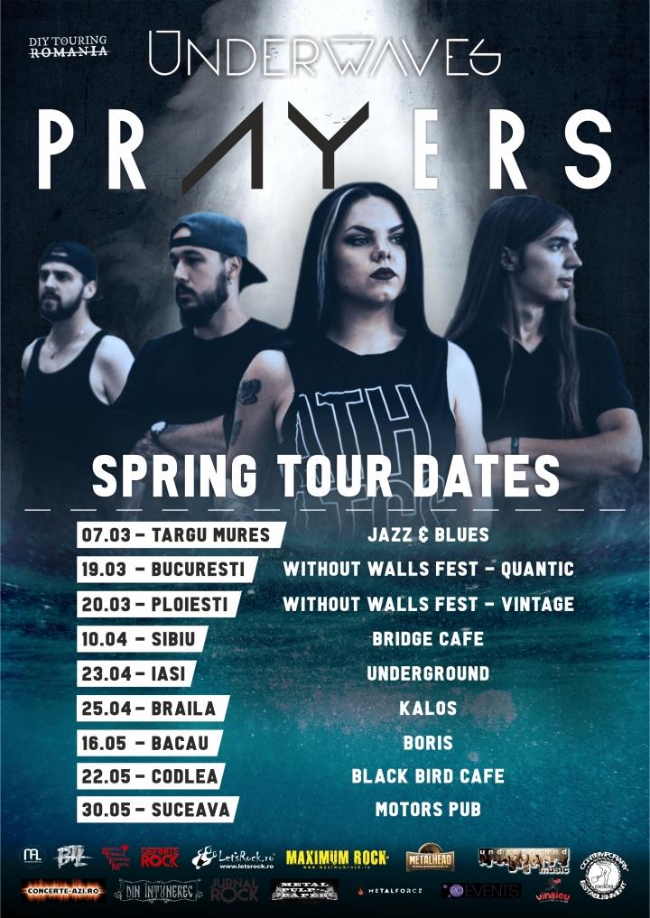 prayers tour poster cu sigle