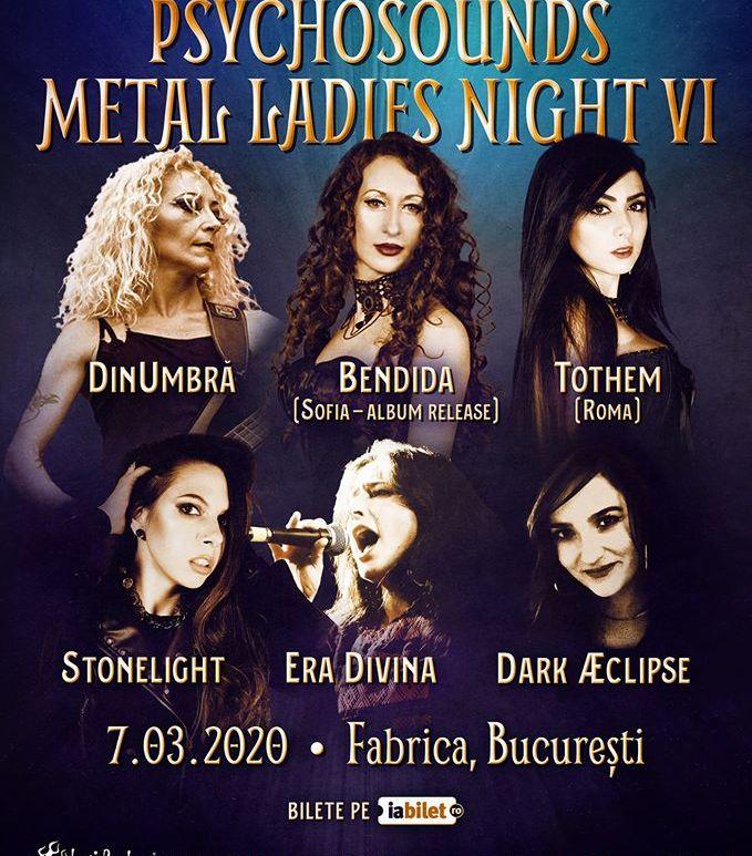 Psychosounds Metal Ladies Night VI in Club Fabrica Bucuresti
