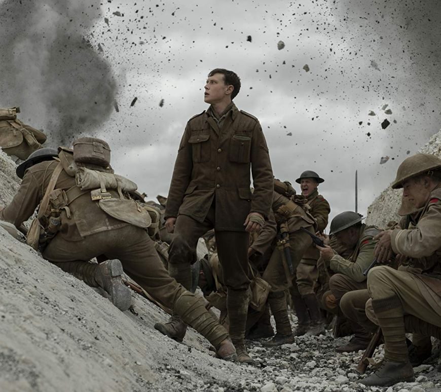 """Vezi imagini behind-the-scenes din timpul filmărilor pentru drama """"1917"""""""