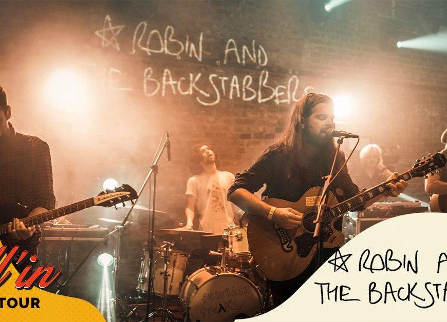 Robin and the Backstabbers la Roll'in București - 19 iunie
