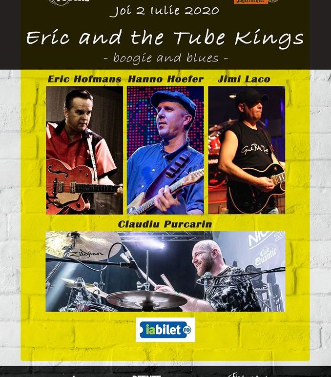 Eric and the Tube Kings - boogie and blues in Quantic - 2 iulie