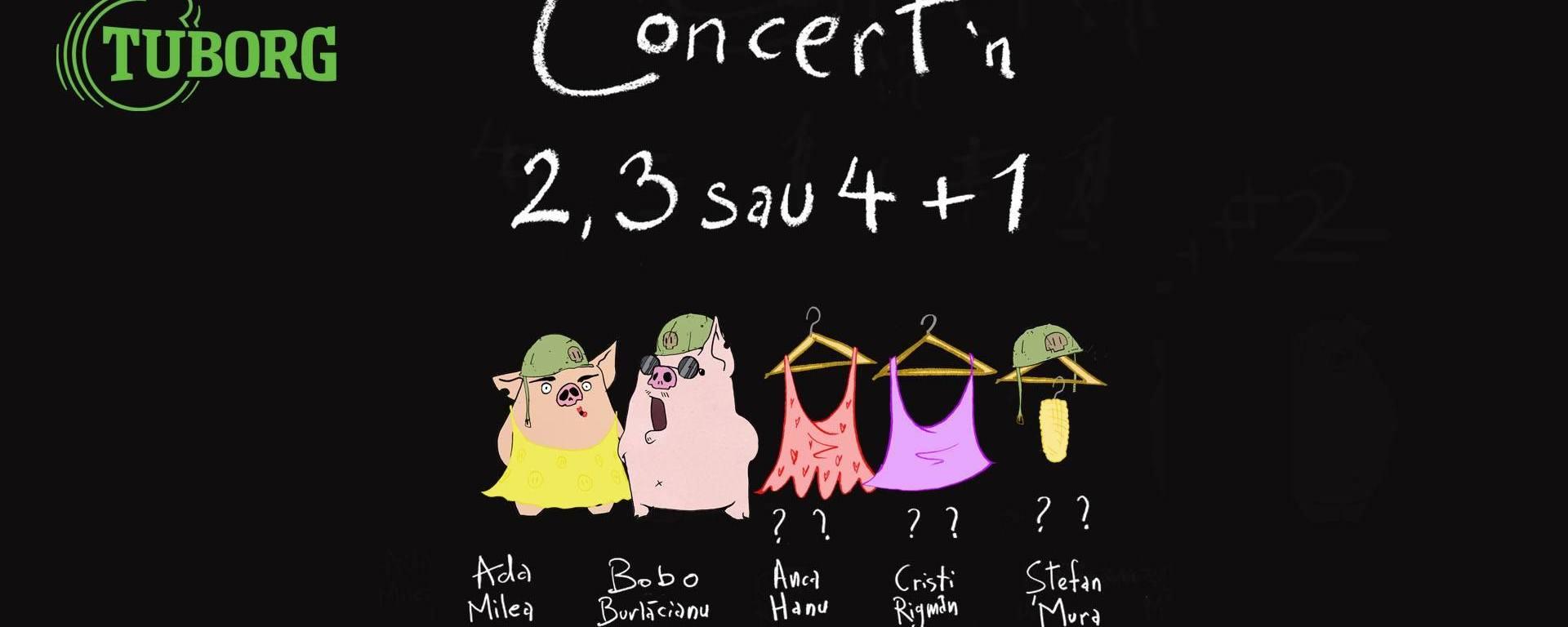 Ada Milea - Concert in 4 + 1 în Quantic - 19 iulie