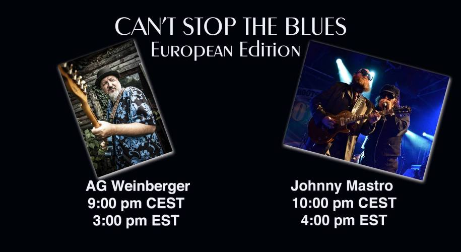 AG Weinberger la al treilea concert pe platforma Can't Stop The Blues