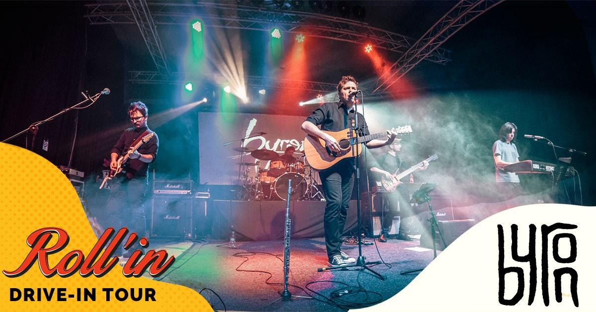 byron Live at Roll'in București pe 26 iunie