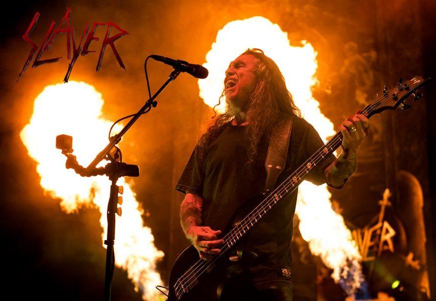 A mai apărut o filmare absolut bestială cu Slayer din 1996