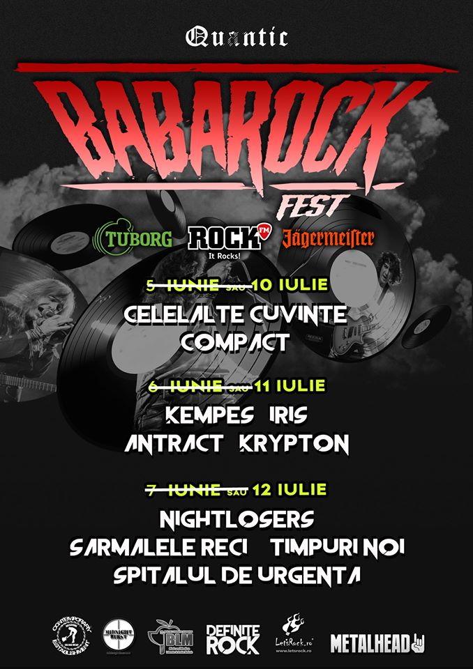 BabaRock Fest în Quantic - 7-9 august - contemporarz+establishment
