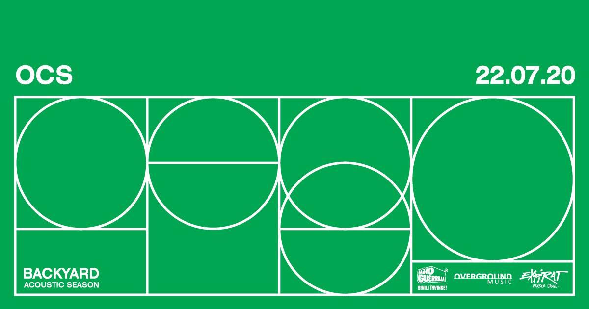OCS • Backyard Acoustic Season 2020 - 22 iulie la Expirat - contemporary-establishment