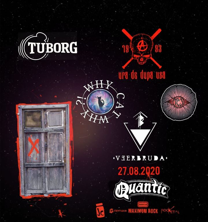 Concert Ura De După Ușă//Veerbruda//Why Cat, Why?!//TC3 in Quantic pe 27 august