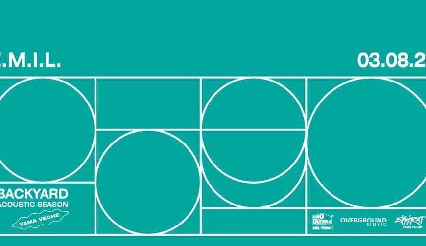 Concert E.M.I.L. în Expirat Vama Veche • Backyard Acoustic Season 2020 - 3 August