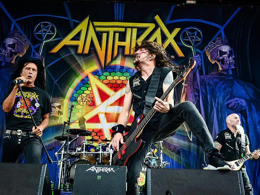 "Anthrax lanseaza o serie de clipuri despre albumul ""Persistence of Time"""
