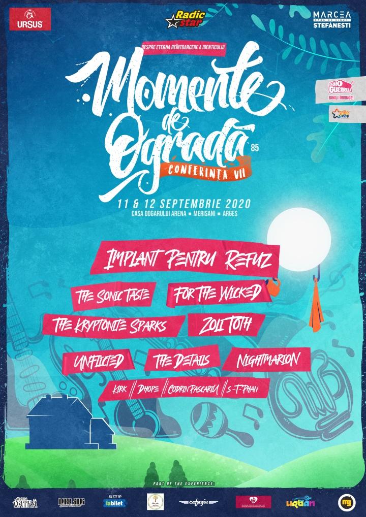 Prima ediție de 2 zile a conferinței MOMENTE DE OGRADĂ 11-12 septembrie 2020