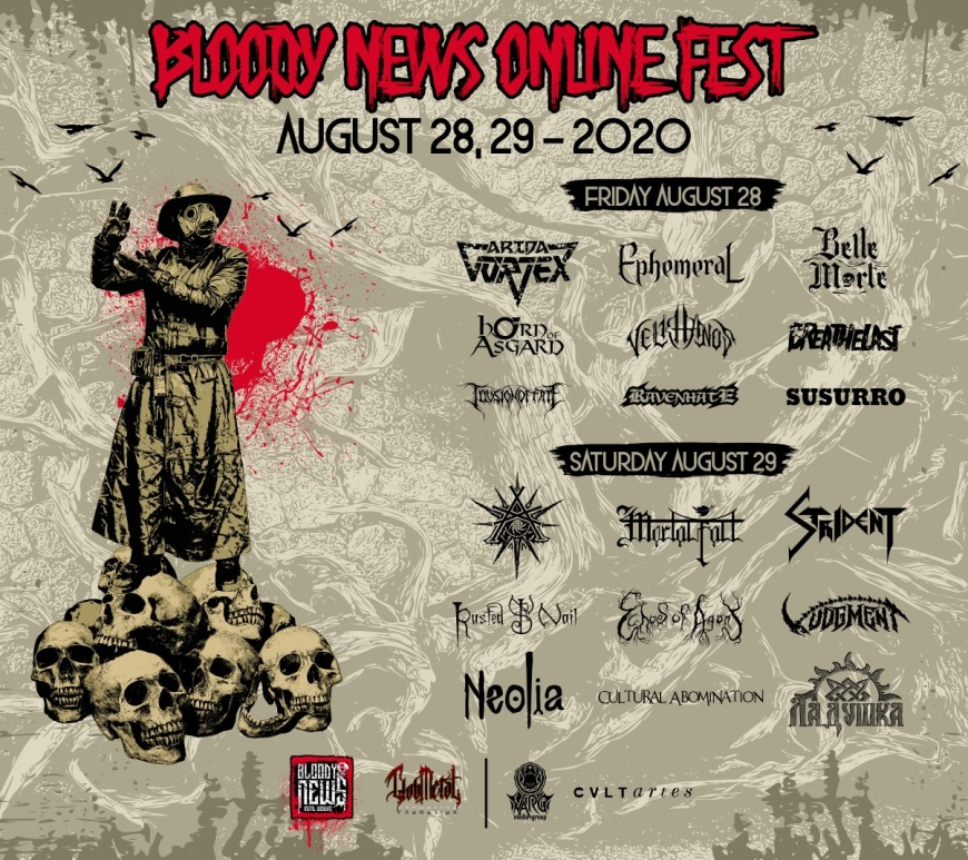 Bloody News Online Fest 2020 - 28 August