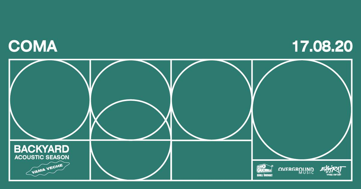 Concert Coma în Expirat Vama Veche • Backyard Acoustic Season 2020
