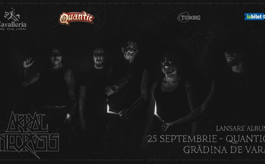 Akral Necrosis - concert lansare album in Quantic - 25 Septembrie
