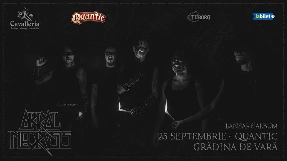 Akral Necrosis - concert lansare album in Quantic - 25 Septembrie