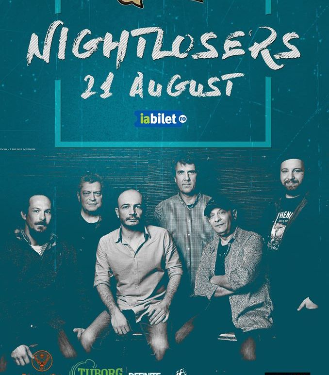 Concert Nightlosers Live in Gradina de Vara Quantic -21 August