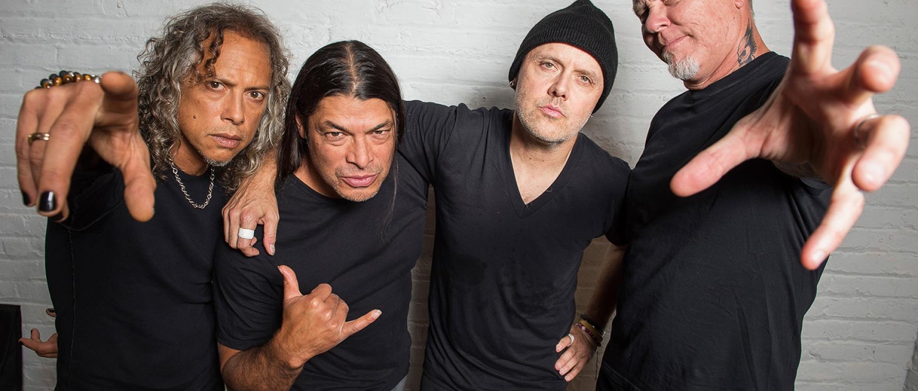 Metallica sunt din nou în sala de repetiţii…vezi clipul video