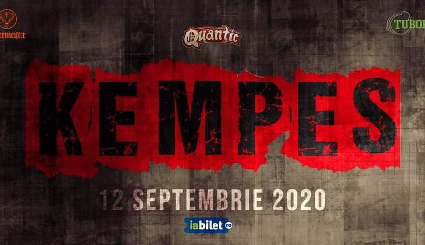Concert KEMPES live la Quantic - 12 Septembrie