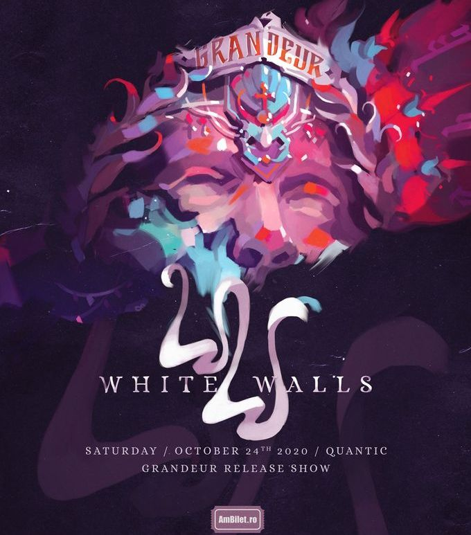 "White Walls - lansare album ""Grandeur'' / 24.10.2020, Quantic Club, Bucuresti"