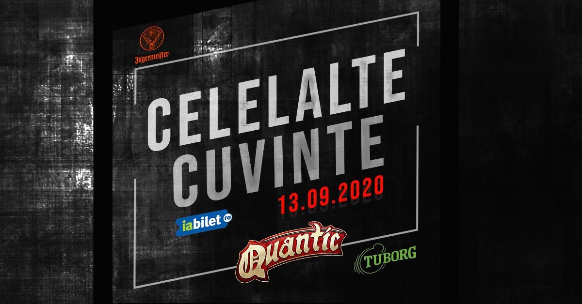 Concert Celelalte Cuvinte live la Quantic - 13 Septembrie