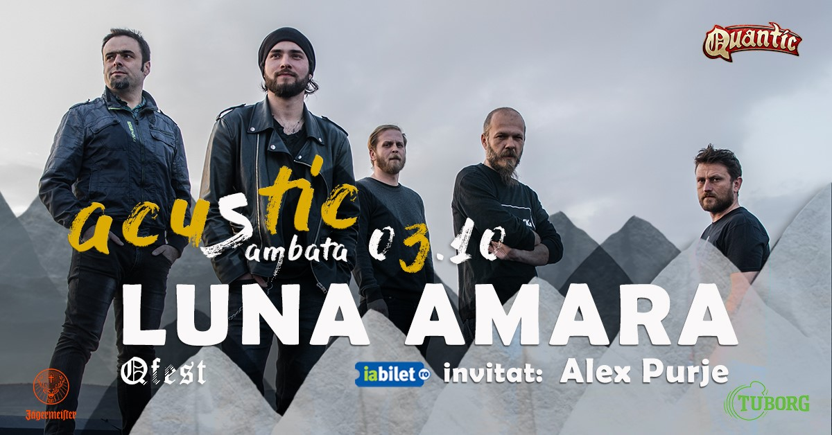 Luna Amara Acustic Live in Quantic - 3 Octombrie