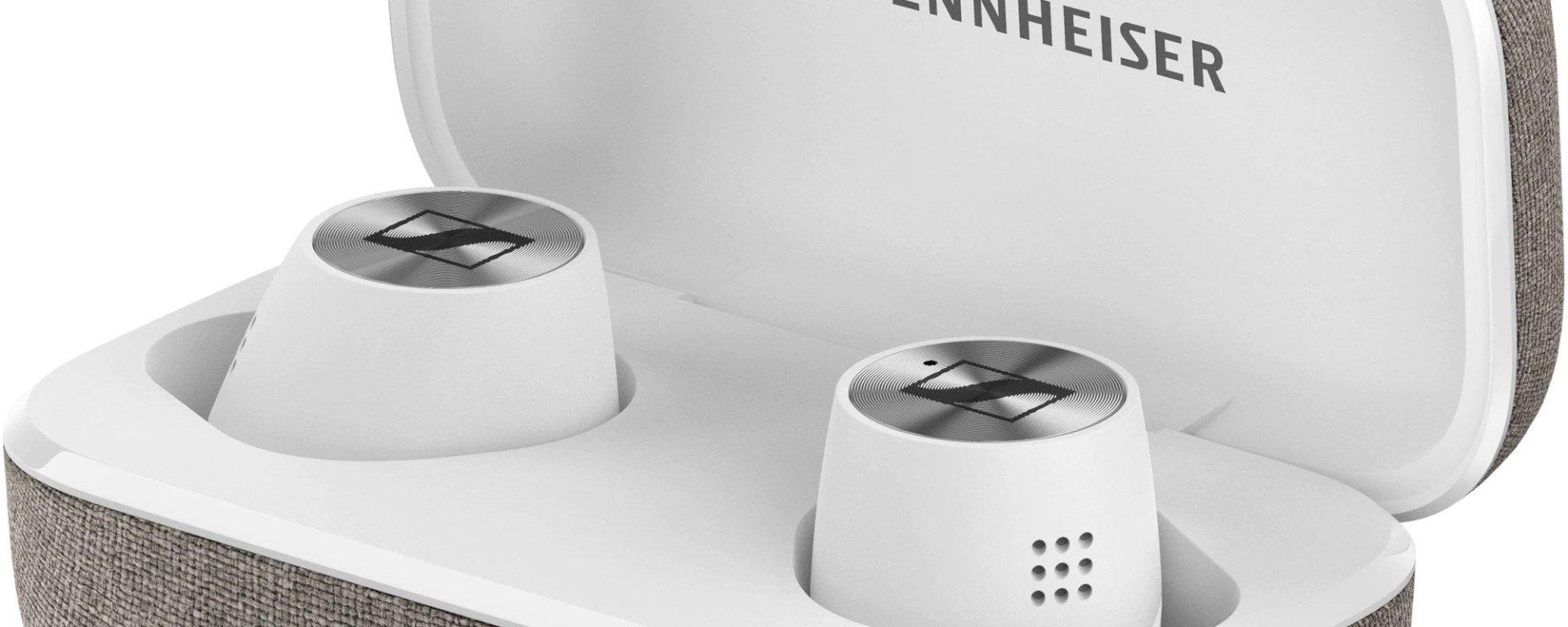 Casti Sennheiser Momentum , Noise Cancelling, True Wireless 2, Alb
