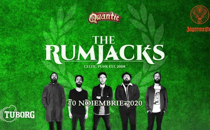 Concert The RumJacks in Quantic - 10 Noiembrie